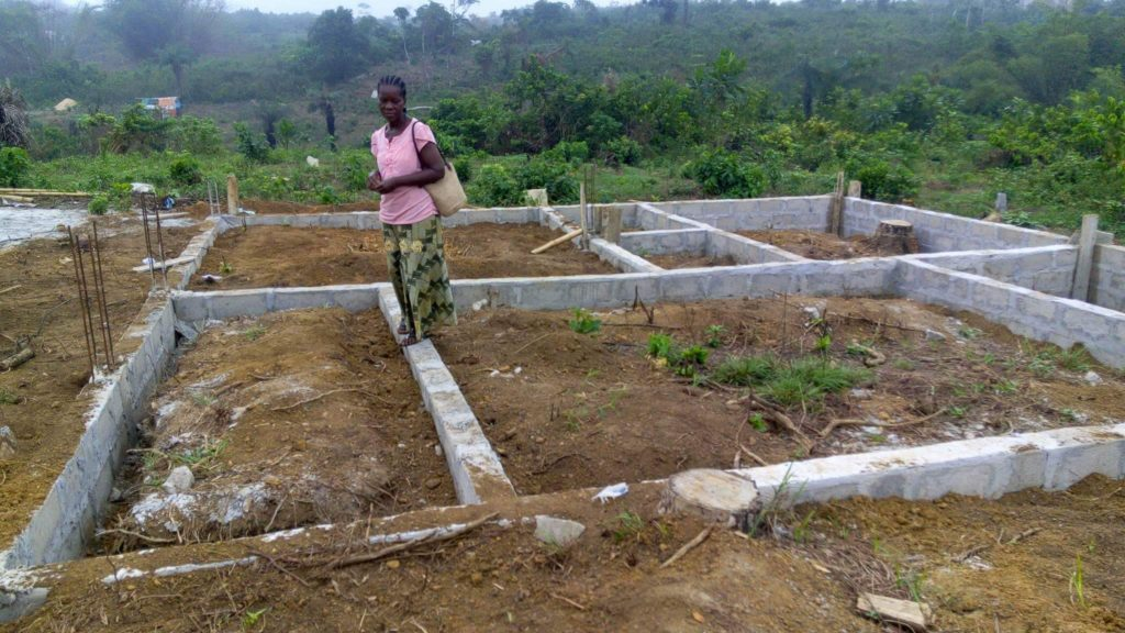 Liberian Outreach: New home for Courage's family